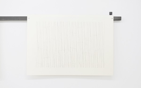 Lefteris Tapas, Wave Study V, 2019, pencil on paper, 56x40cm_Courtesy of CAN Christina Androulidaki gallery
