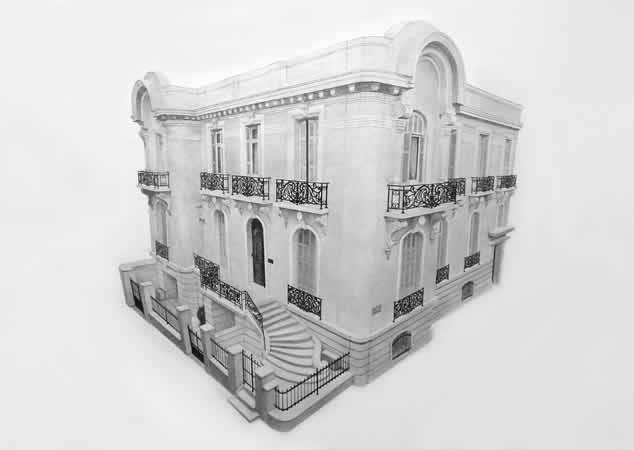 Manolis D. Lemos, Untitled, 2012, pencil on paper, 171,5 x 114 cm