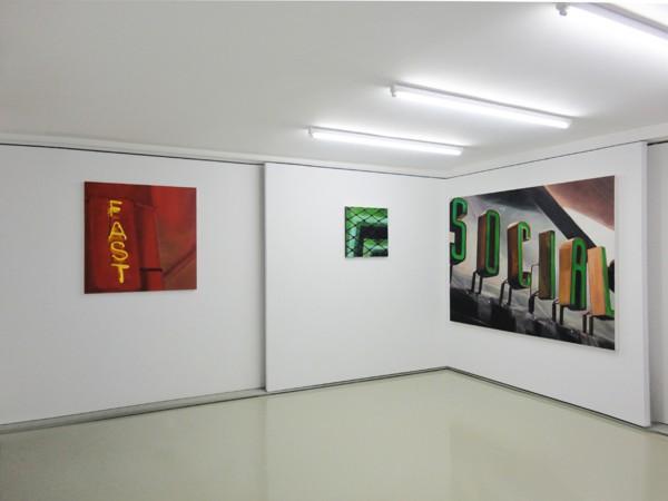 Sotiris Panousakis, The Show Must Go On, 2017, Solo Show, Installation view