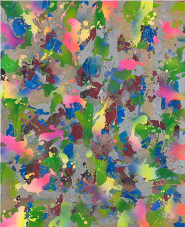 Yorgos Stamkopoulos, Eternal Legend, Acrylic on Canvas, 110x90cm
