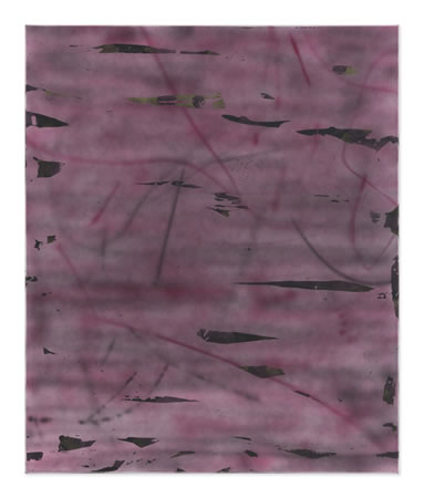 Yorgos Stamkopoulos, Untitled, 2014, Acrylic airbrush and Spray on Canvas, 120x100cm