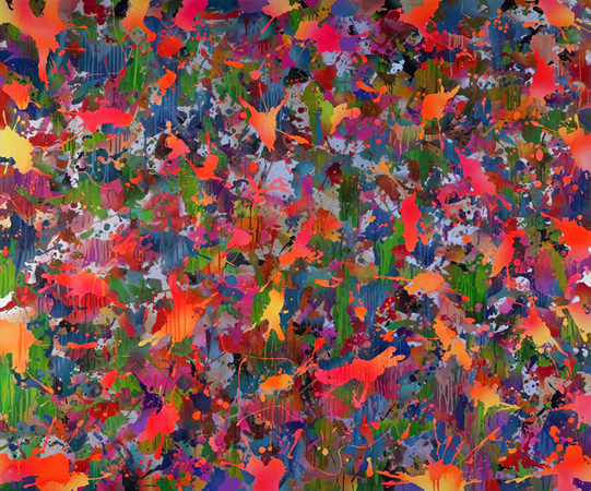 Yorgos Stamkopoulos, In The Valley Of Hades, 2012, Acrylic on Canvas, 150x180cm