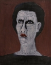 Celia Daskopoulou, Untitled, 1986, oil on canvas, 50x40cm, Courtesy of CAN Christina Androulidaki gallery