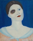 Celia Daskopoulou, Untitled, 1974, oil on canvas, 50x40cm, Courtesy of CAN Christina Androulidaki gallery