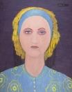 Celia Daskopoulou, Untitled, 1977, acrylic on canvas, 116x90cm