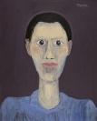 Celia Daskopoulou, Untitled, 1987, acrylic on canvas, 100x81cm