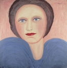 Celia Daskopoulou, Untitled, 1983, acrylic on canvas, 115x115cm