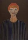 Celia Daskopoulou, Untitled, 1992, acrylic on canvas, 100x70cm