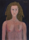 Celia Daskopoulou, Untitled, 1988, acrylic on canvas, 80x60cm