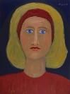Celia Daskopoulou, Untitled, 1991, acrylic on canvas, 80x60cm