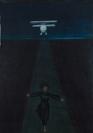 Celia Daskopoulou, L'avion, 1969, oil on canvas, 100x73cm