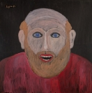 Celia Daskopoulou, Untitled, 1984, acrylic on canvas, 115x115cm