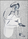 Augusta Atla Van Fogh, Melancholia, 2018, oil on canvas, 60x80cm