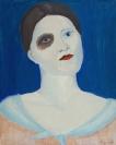 Celia Daskopoulou, Untitled, 1974, oil on canvas, 50x40cm
