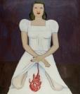 Celia Daskopoulou, Untitled, 1979, oil on canvas, 115x100cm