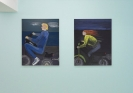 Celia Daskopoulou, Men and Motorcycles, 2020,  Installation View CAN gallery