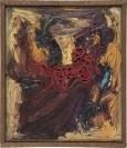 Dimitris Condos, Untitled, Paris 1963, Oil on canvas, 17x15cm