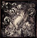 Dimitris Condos, Transformations, Rome 1959, Mixed technique on canvas, 140x140cm