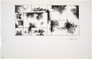 Dimitris Condos, Untitled, Drawing, Athens 1978, Ink on paper, 17x33cm, framed 35x50cm
