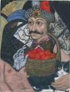 Emmanouil Bitsakis, Vlad Tepes (Dracula), 2019, Acrylics on cardboard, 12,5x10cm, Courtesy of the artist and CAN Christina Androulidaki gallery, Athens