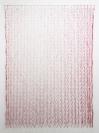 Nikos Alexiou, Red Curtain, paper, string, reed, 140x200cm