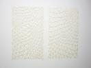 Nikos Alexiou, Grid, handmade cut out on paper, 58x98cm