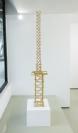 Nikos Alexiou, Tower, reed, 29x29x150cm