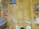 Nikos Alexiou, Solar House, reed, string, 60x60x60cm