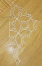 Nikos Alexiou, Untitled, handmade cut out paper, reed