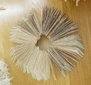 Nikos Alexiou, Untitled, handmade cut out paper, dimensions variable