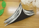 Nikos Alexiou, Untitled, handmade cut out paper, string