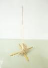 Nikos Alexiou, Untitled, reed, string