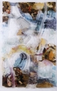 Chryssa Romanos, Pictures, 1982, Decollage on plexiglass, 200x132cm