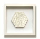 Efi Spyrou, Tramp in, 2011, giluform synthetic plaster, 24x25cm, framed, unique