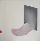 Hara Piperidou, Sinking in the gap I, 2013, oil on canvas, 50x40cm