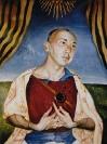 Vita et Martyrium, 2001, egg tempera on wood, 35x28cm