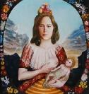 Untitled, 2002, egg tempera on wood