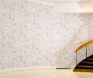 Lefteris Tapas, Heaven, 2011, Wallpaper, dimensions variable, installation shot