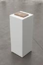 Manolis D. Lemos, SPURT, 2019, book, 64p hardcover, silverprint & Corian pedestal, 30x30x82cm, unique