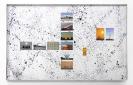 Crystal Cravings, 2015, C-prints on Fujifilm Paper and Liquid Tar on Matboard,  93,4x151cm