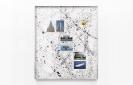 Crooked Cries, 2015, C-prints on Fujifilm Paper and Liquid Tar on Matboard,  93,4x79,8cm