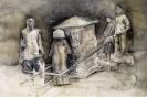 Marianna Ignataki, Josie, 2016, watercolor, pencil and colored pencil on paper, 56x38cm