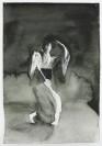 Marianna Ignataki, The Dancer, 2017, watercolor, pencil, colored pencil and pastel on paper, 31x22cm