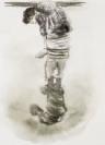 Marianna Ignataki, Chinoiserie IV, 2017, watercolor and pencil on paper, 21x16cm
