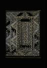 :mentalKLINIK, Untitled 487, 2011, Wool, handwoven carpet, high polished bronze, 181x246cm