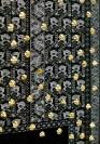 :mentalKLINIK, Untitled 487, 2011, Wool, handwoven carpet, high polished bronze, 181x246cm detail