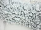 Panayiotis Loukas   Malvina Panagiotidi, The Gates Of Horn And Ivory, 2016, Air drying clay, glass, acrylic colour, polyurethane foam, wood, metal, fabric, 180x100x50cm, detail