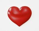 Pavlos Tsakonas, Big Red Heart, 2016 Painting, acrylics on plywood, 20x17cm