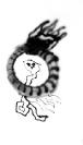 Manolis Lemos - George Tigkas, Snakes and Flames, Untitled, 2013, Spay on paper, 29x50cm
