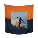 SERAPIS, Scarf6. Sunset, Print on 100% Twill silk, 50x50cm, 90x90cm, 130x130cm, limited edition of 200